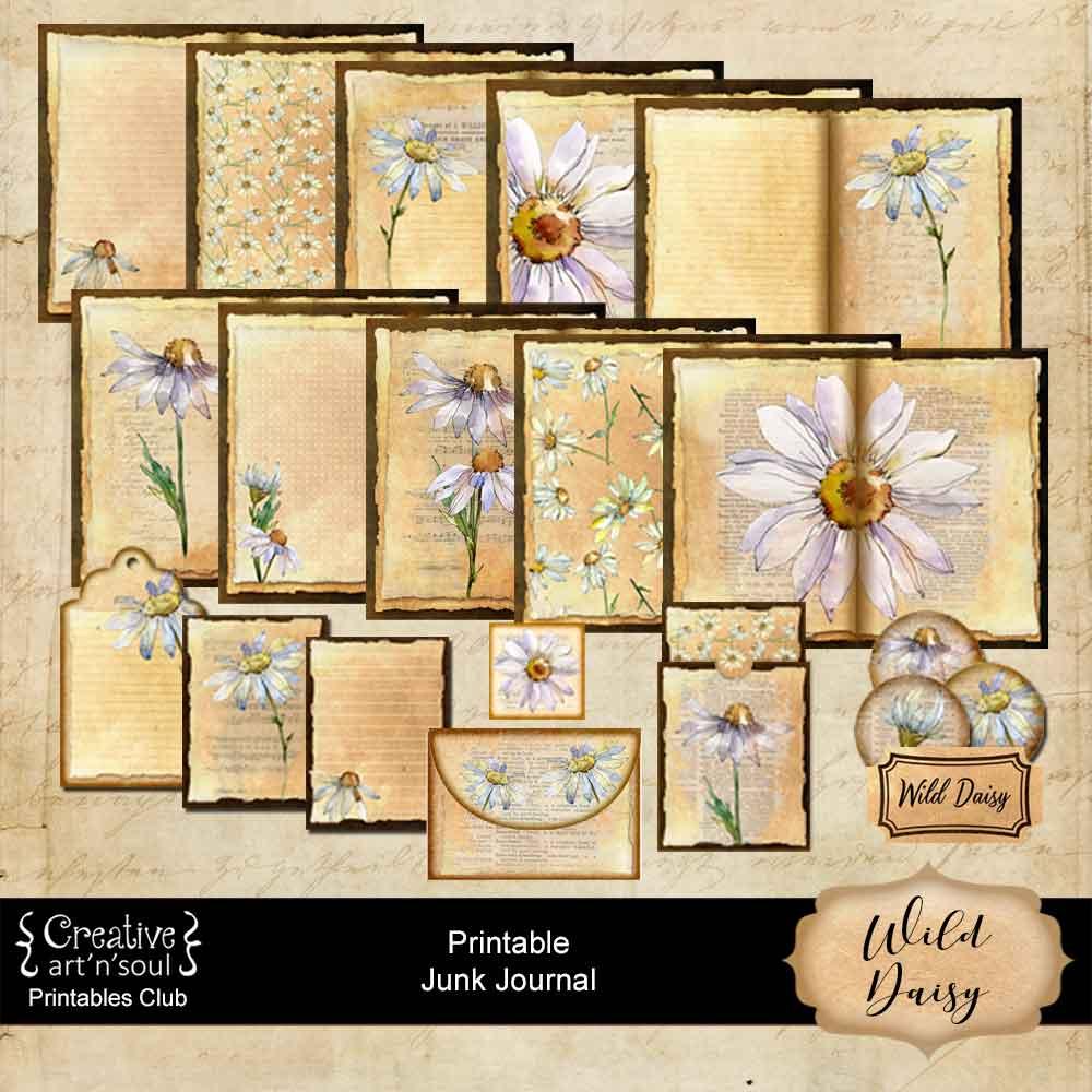 Wild Daisy Junk Journal