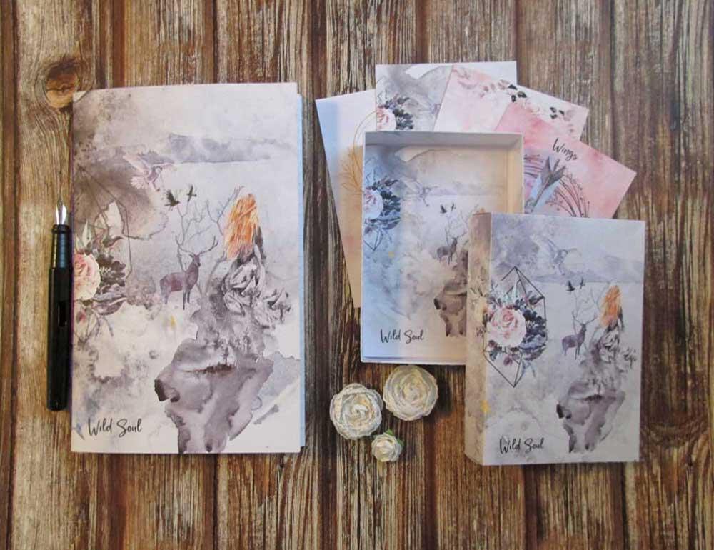 Wild Soul Printable Journal Prompt Series