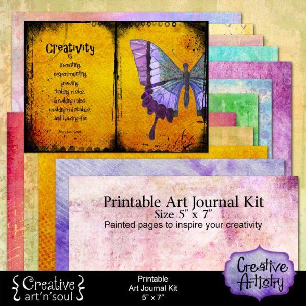 Creative Artistry Printable Art Journal