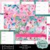Summer Florals Printable Gratitude Journal