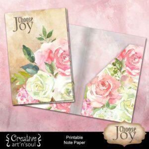 Choose Joy Printable Folder