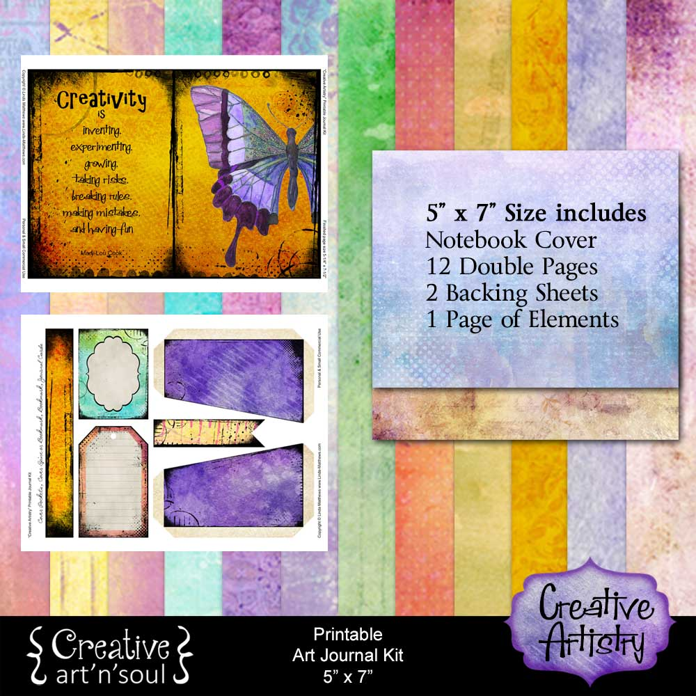 Creative Artistry Printable Art Journal