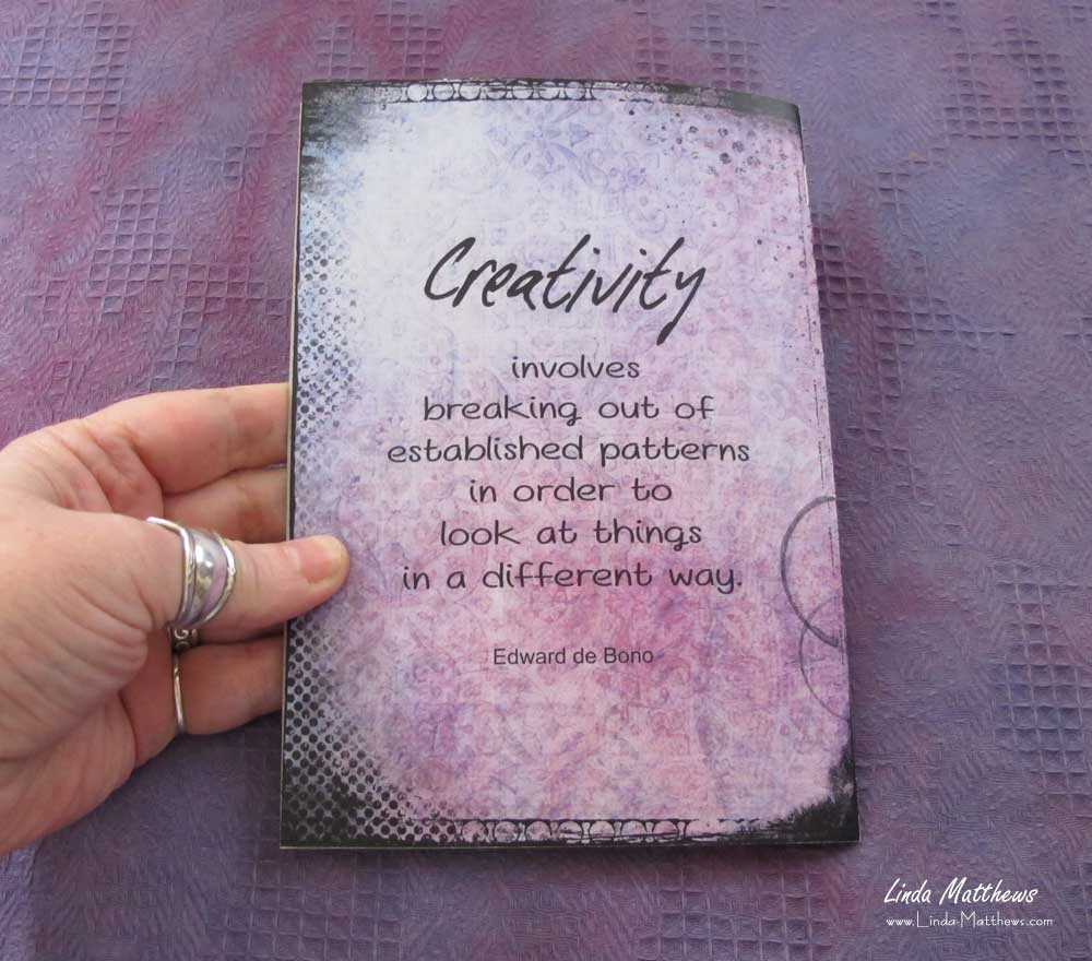 Creative Art'n'Soul Journal: Creative Artistry Printable JournalNotes