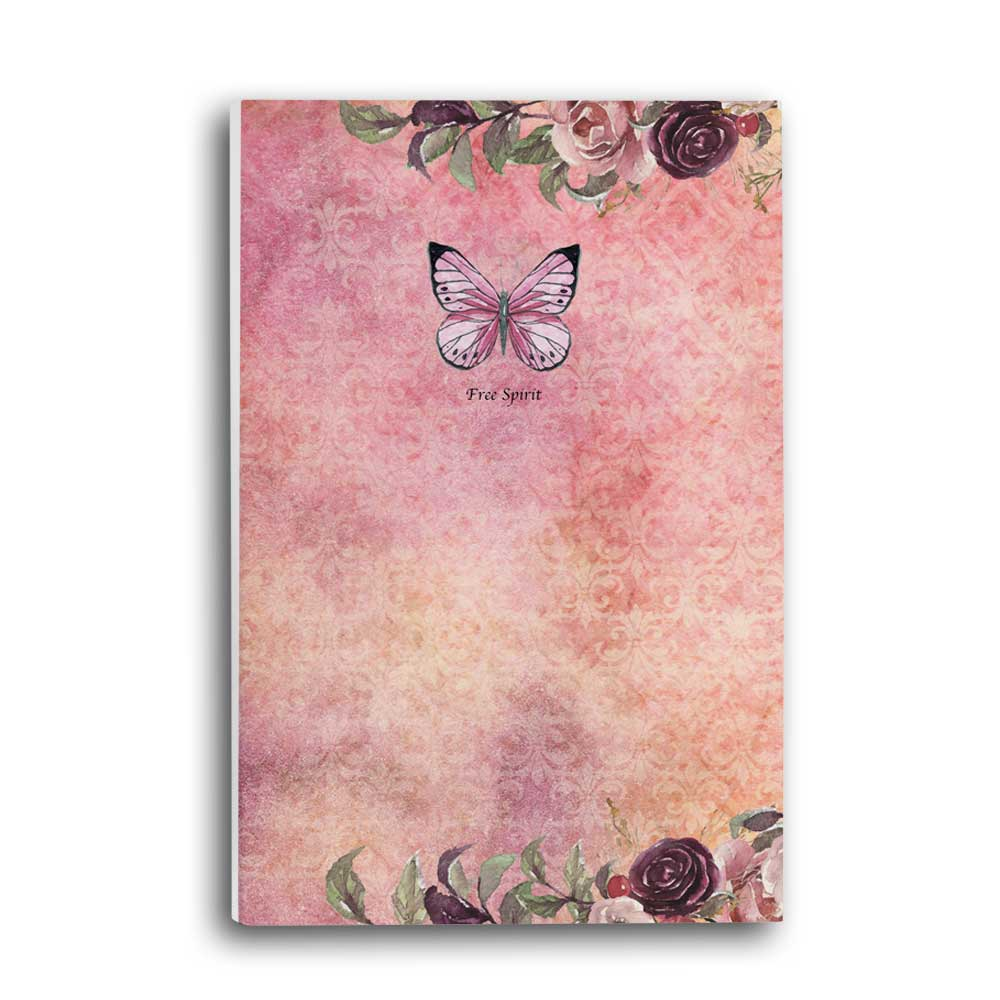Free Spirit Feathers & Flowers Journal