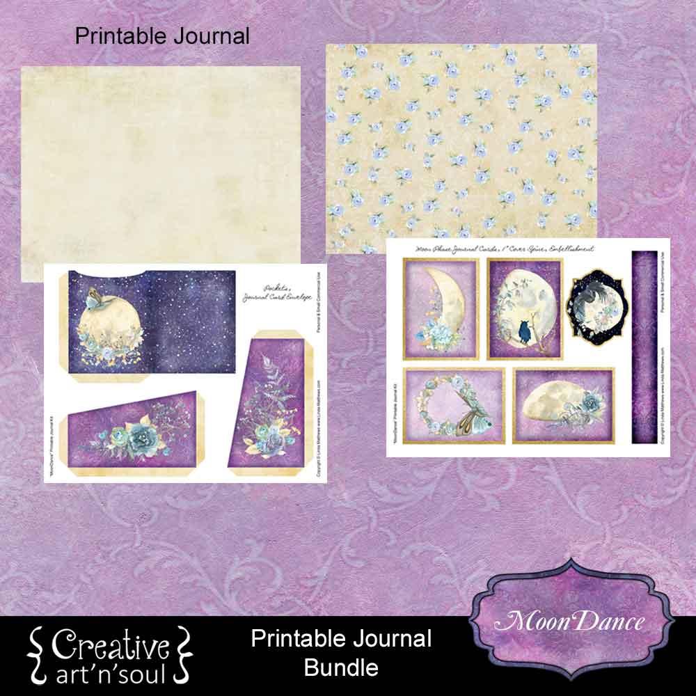 MoonDance Printable Journal Bundle