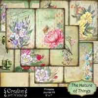 The Nature of Things Printable Journal Kit
