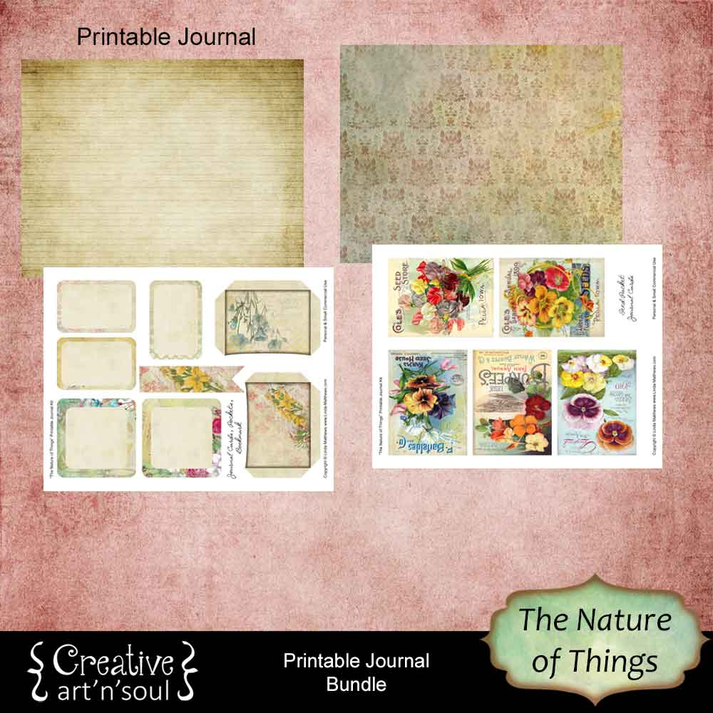 The Nature of Things Printable Journal Bundle
