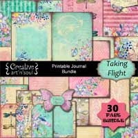 Taking Flight Printable Journal Bundle