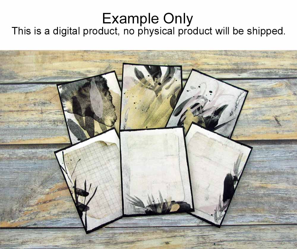 Creative Artistry Printable Journal Cards Set 1