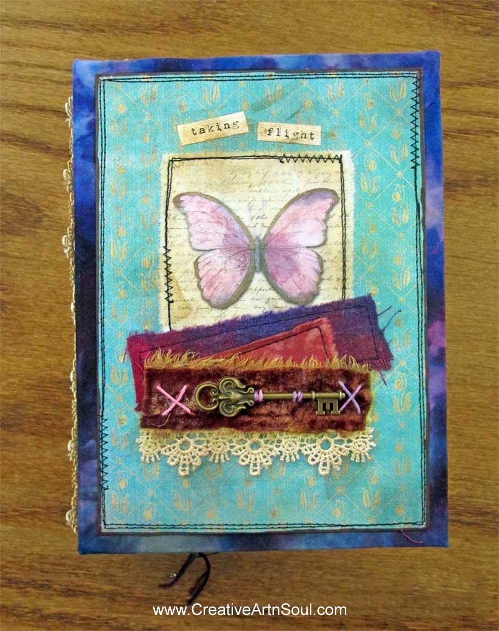 How to Make a Hidden Spine for your Junk Journal