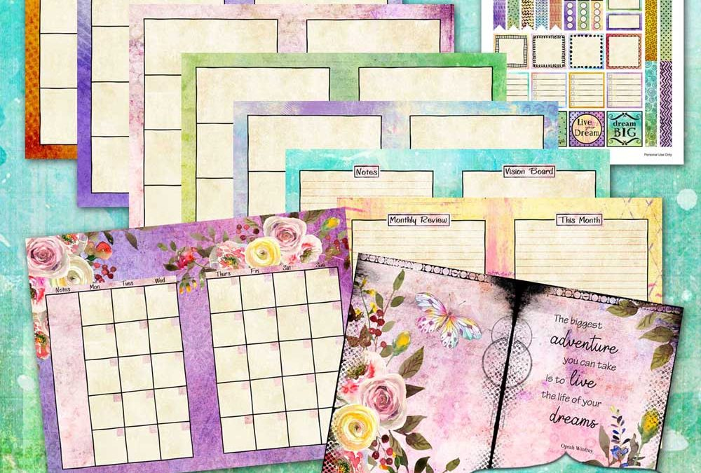 The Creative Vision Planner Journal Undated