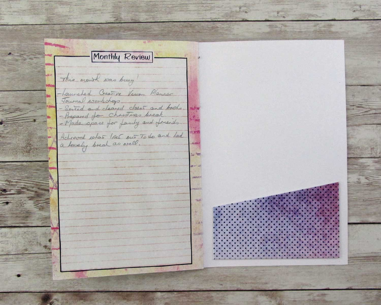 Creative Vision Planner Journal