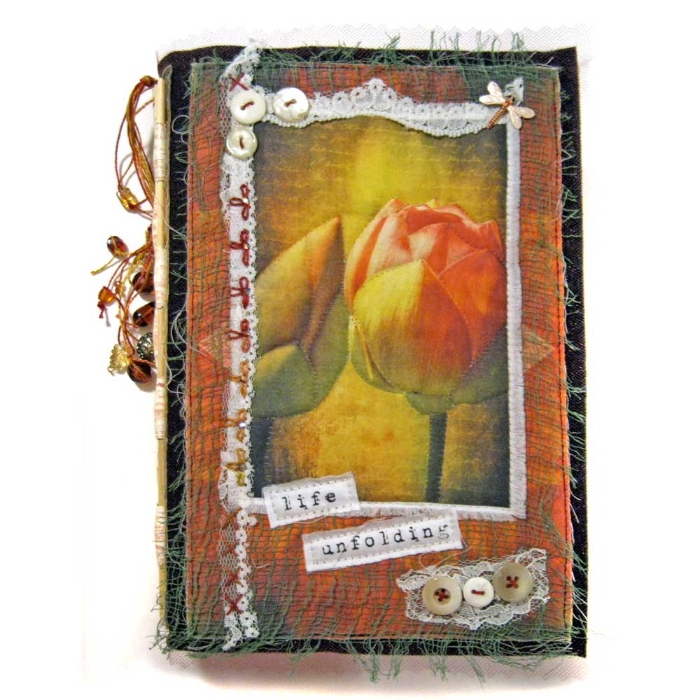 Life Unfolding: a Stitched Mixed Media Journal