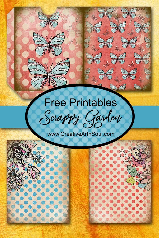 Scrappy Garden Free Printables