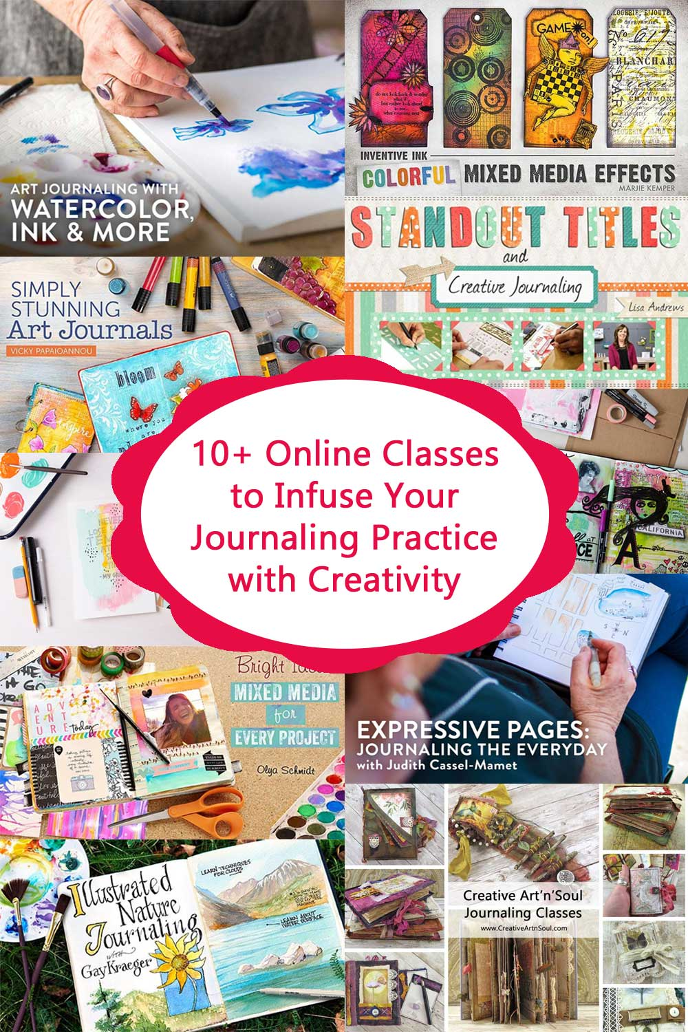 Online Classes to Infuse Your Journaling Practice with Creativity