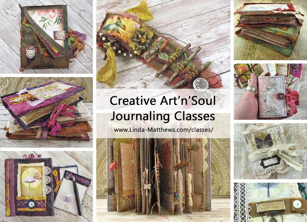 Creative ArtnSoul Journaling Classes