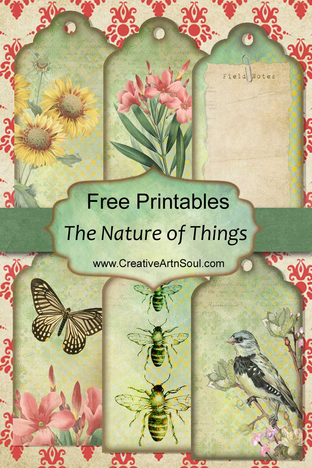 The Nature of Things Free Printables