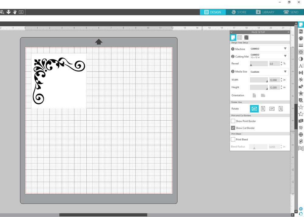 Designing Stencils using Silhouette Cameo Software