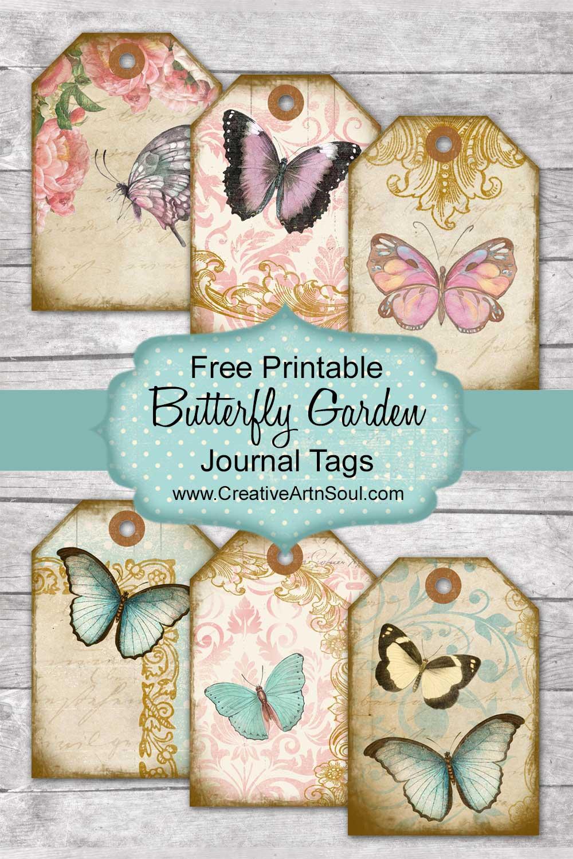 Butterfly Garden Journal Free Printables
