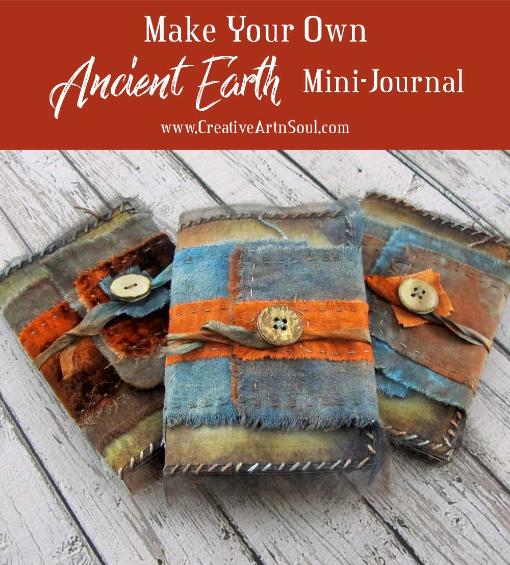 How to Make an Ancient Earth Mini-Journal