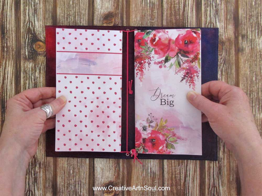 How to Make a Fabric Traveler's Notebook Cover