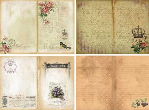 Free Printable Journal Pages for Your Junk Journals