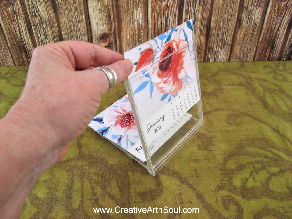 Free Printable 2021 CD Calendar Tutorial