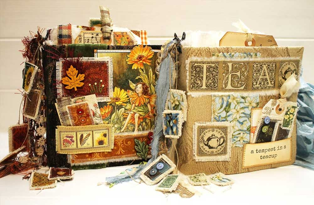 Patched Junk Journal Online Class