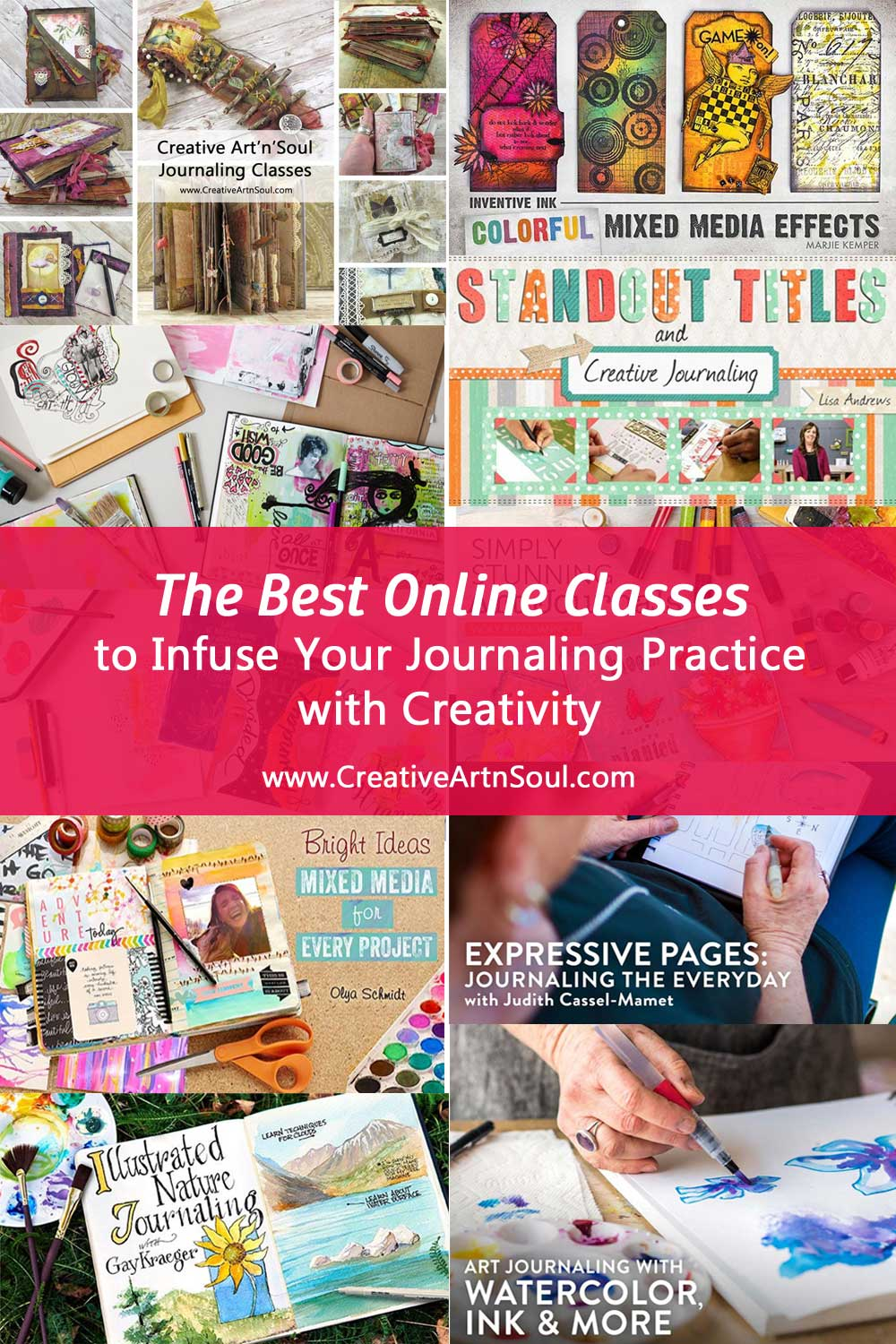 The Best Online Classes to Infuse Your Journaling Practice with Creativity