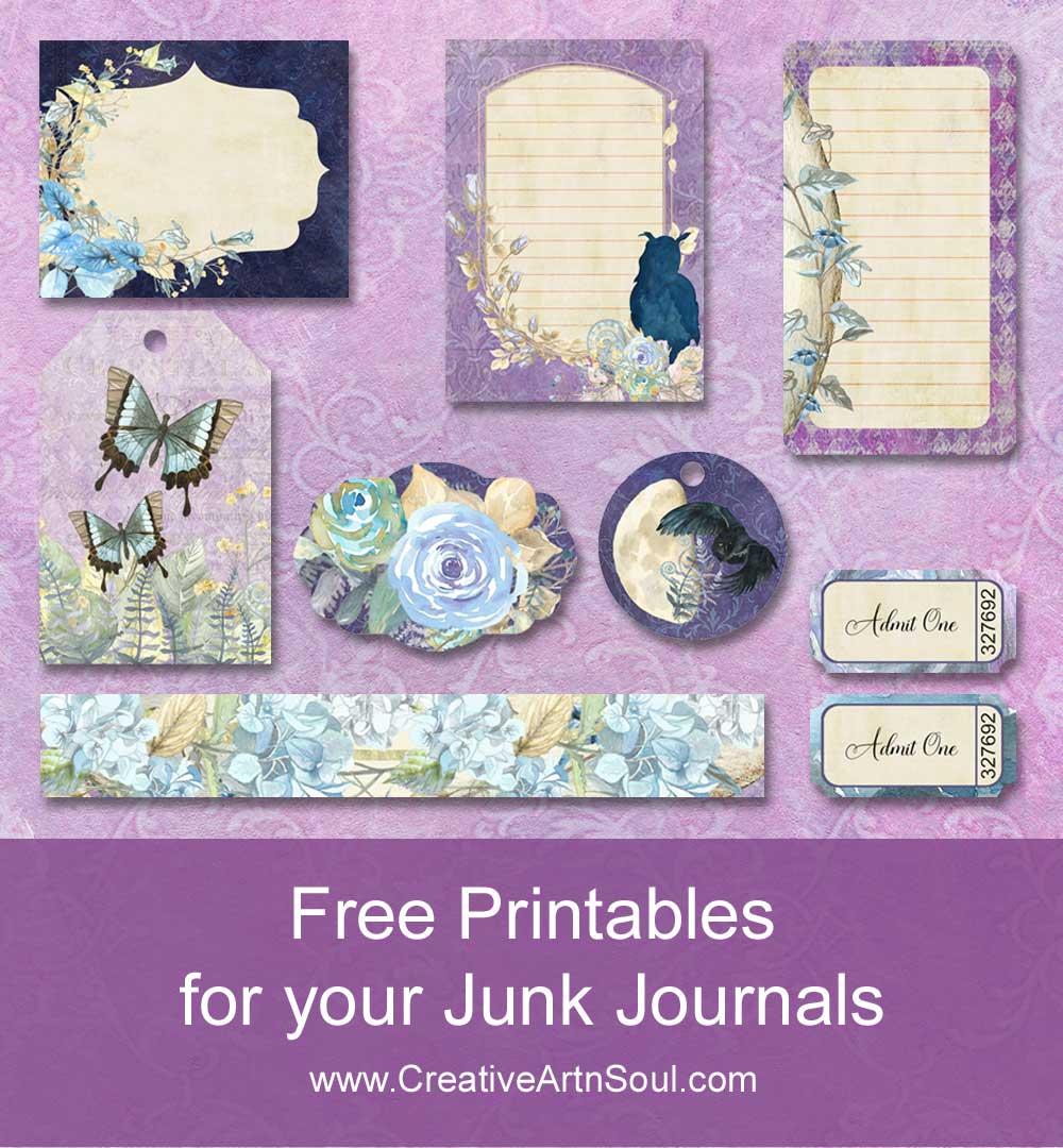 Free Printable Ephemera for Your Junk Journals