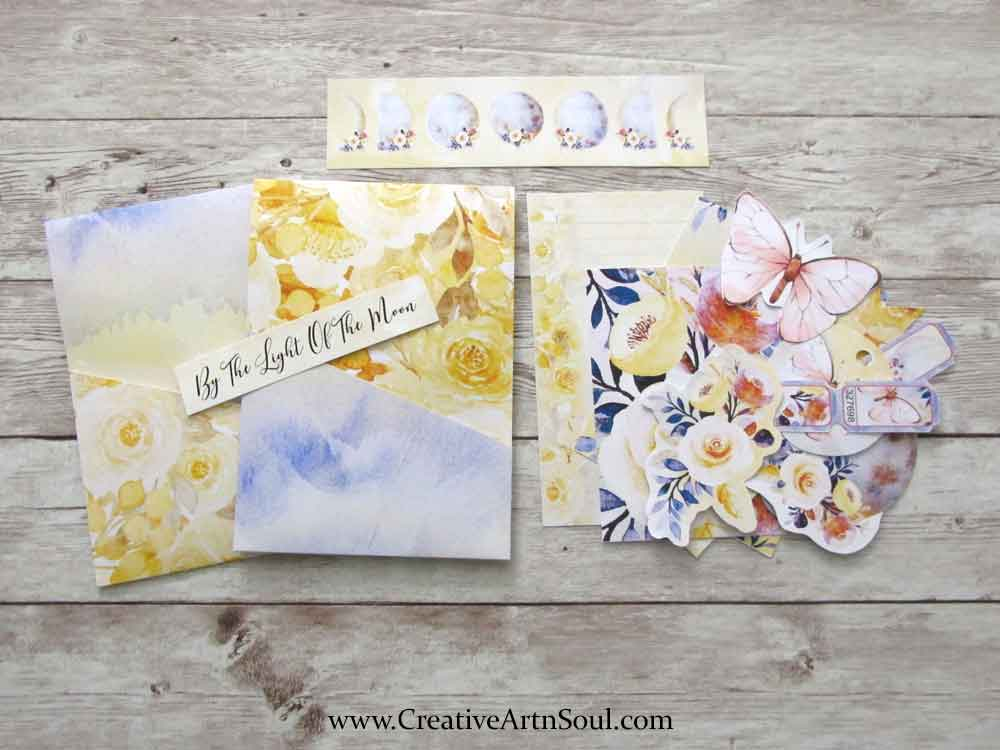 Printable Stuffed Pocket for Your Junk Journals