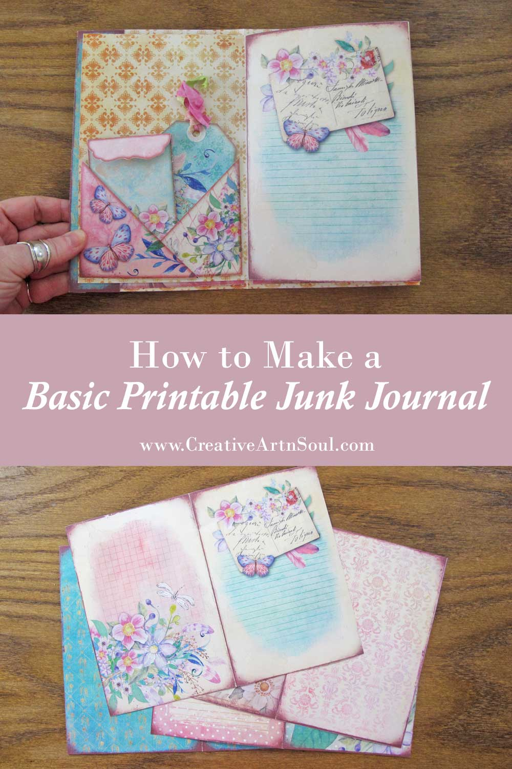 How to Make a Basic Printable Junk Journal