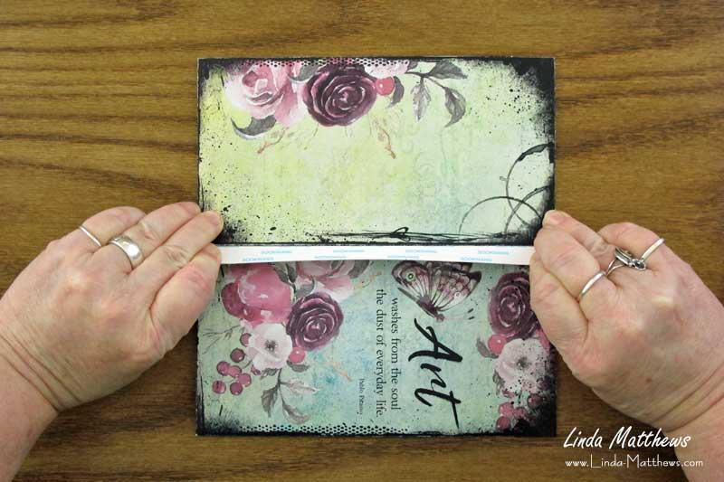 How to Assemble the Printable Traveler's Notebook Pocket Folder