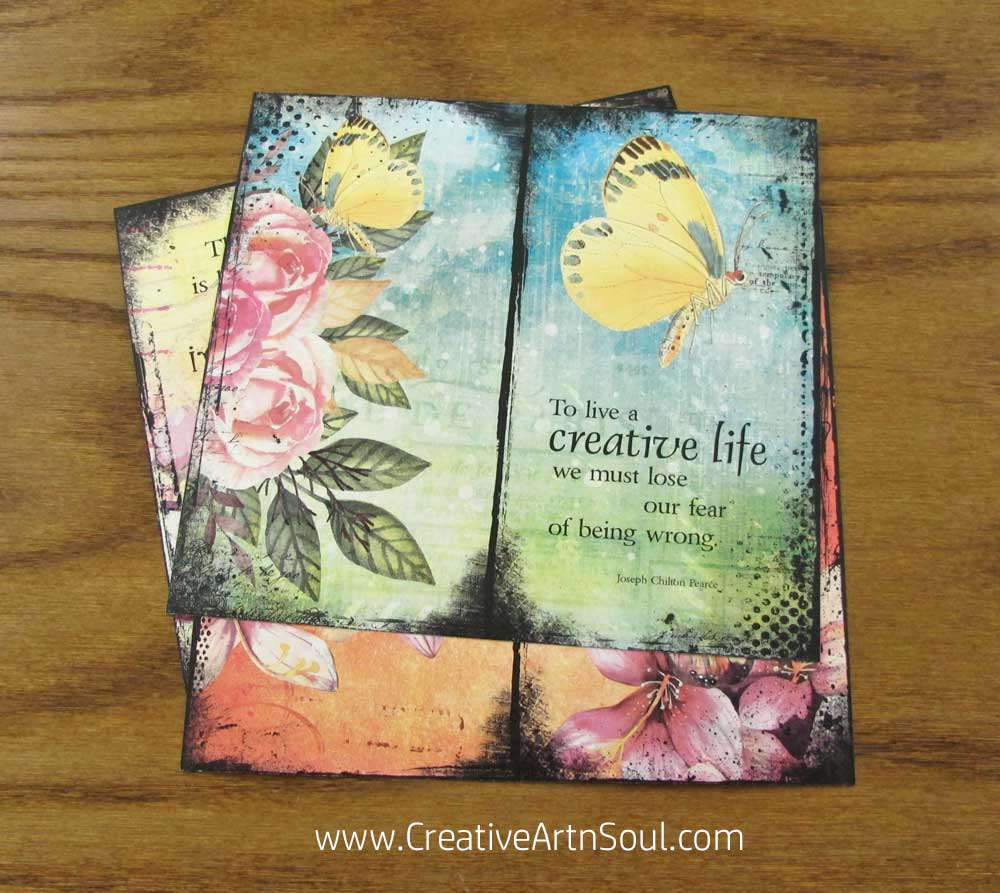 Creative Artistry Traveler's Notebook Inserts