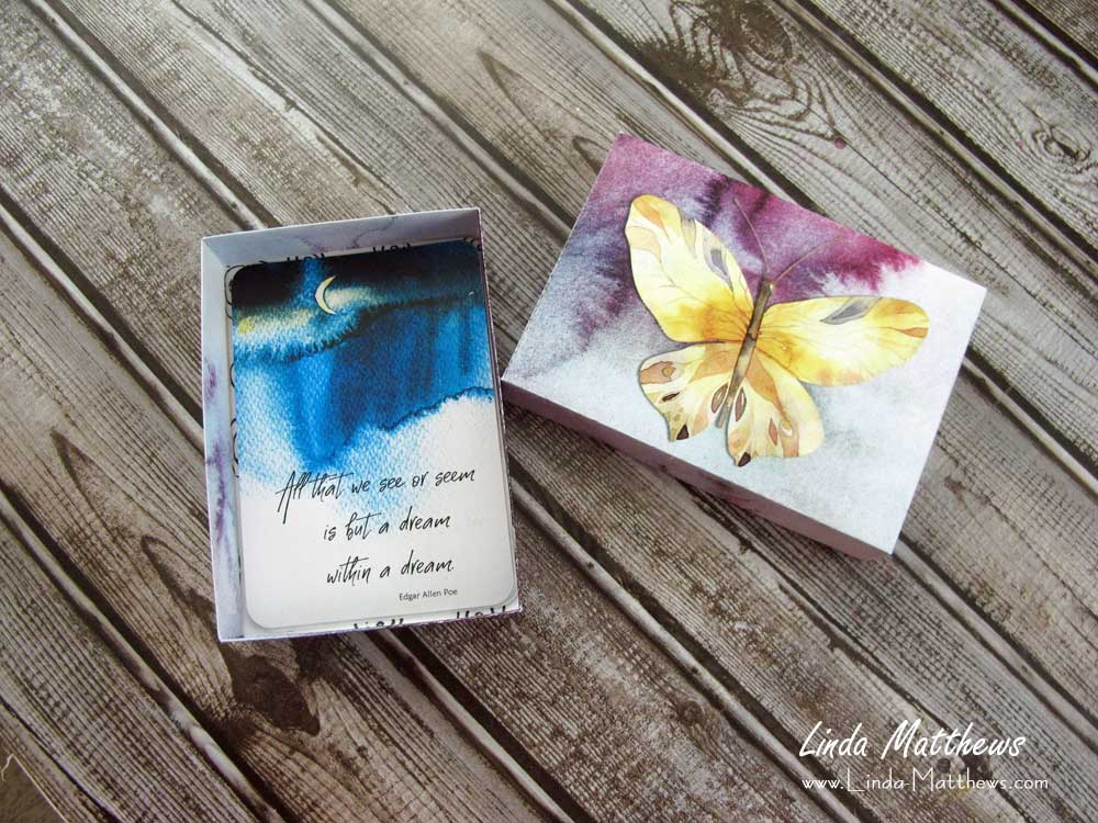 How to Assemble the Box for the Affirmation Card Deck