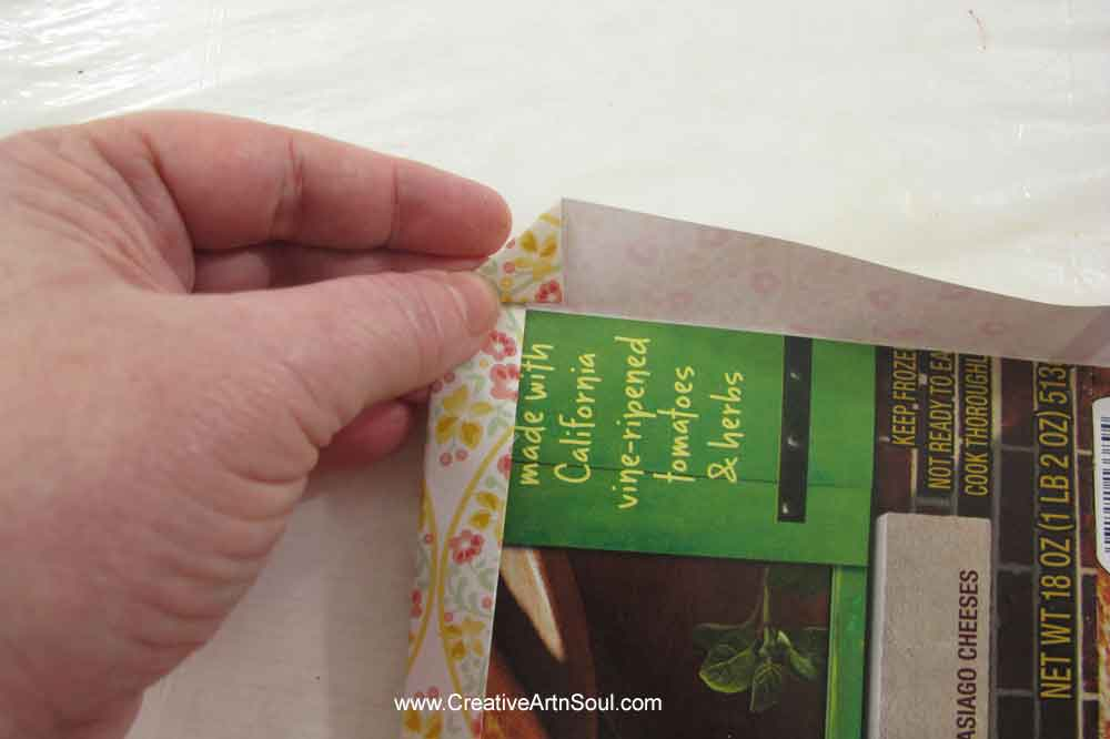 How to make an Easy Junk Journal Cover with Spine using Printables