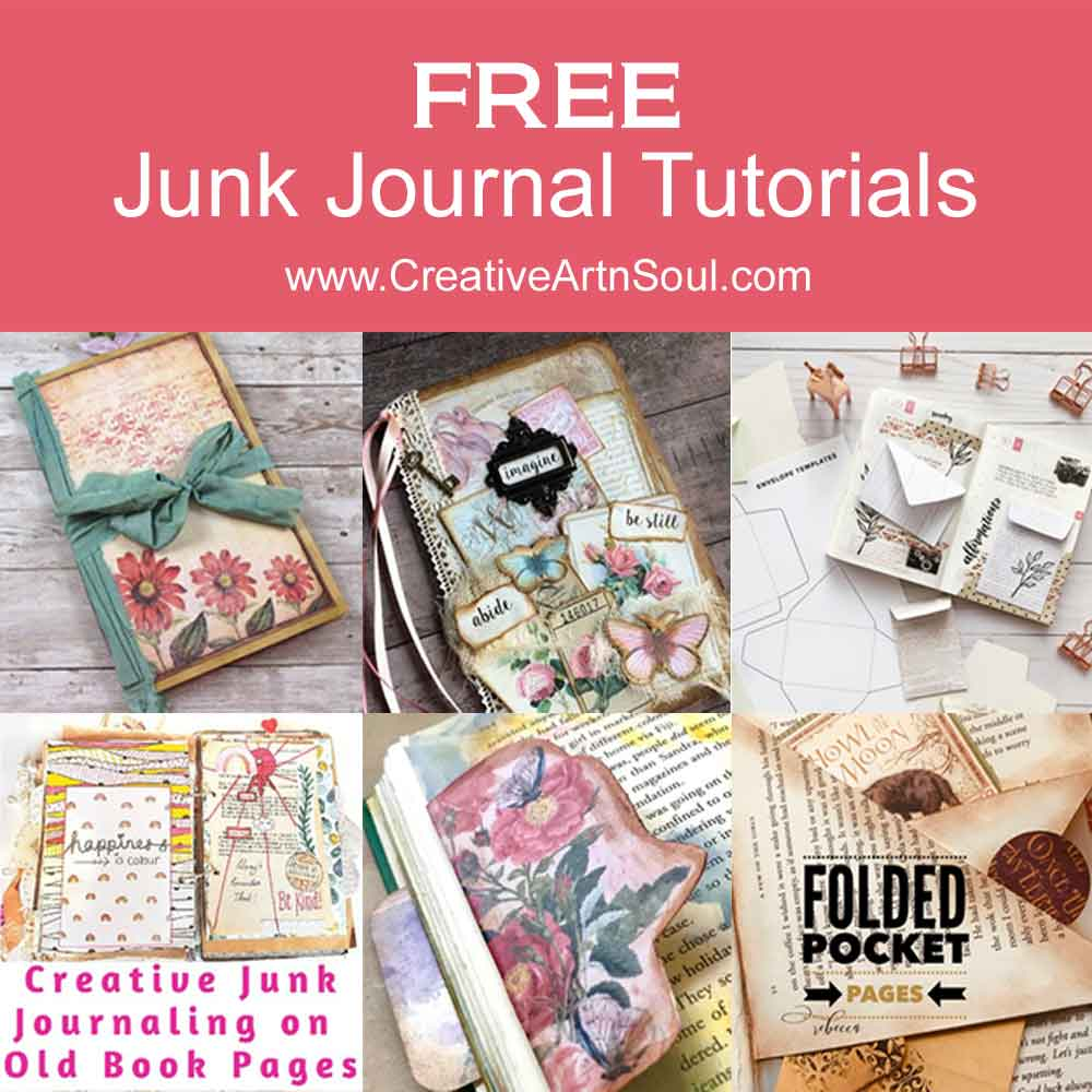 Free Junk Journal Tutorials