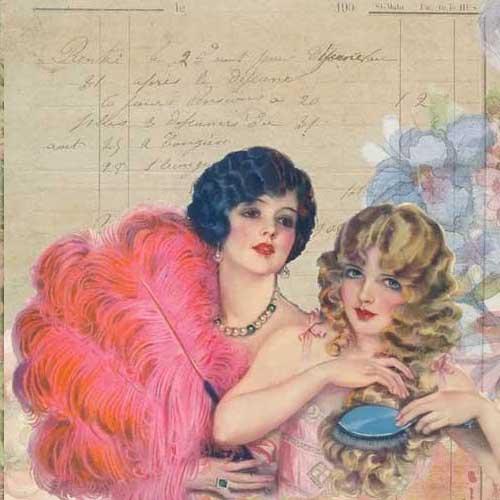 Free Printable Vintage Journal Page
