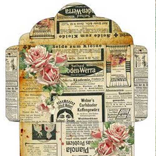 Free Printable Vintage Envelope