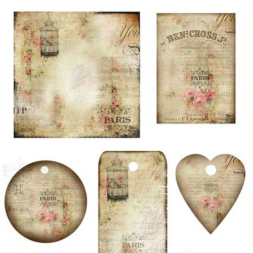 Free Printable Junk Journal Elements
