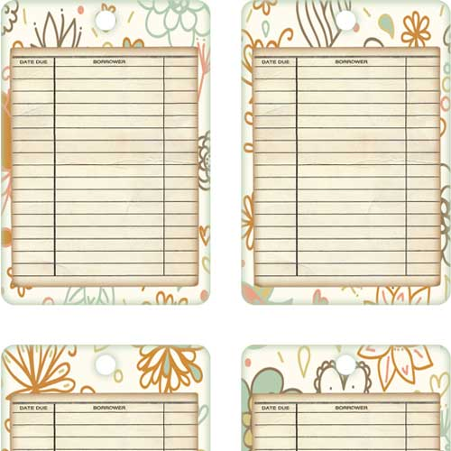 Free Printable Tiny Notes and Envelopes