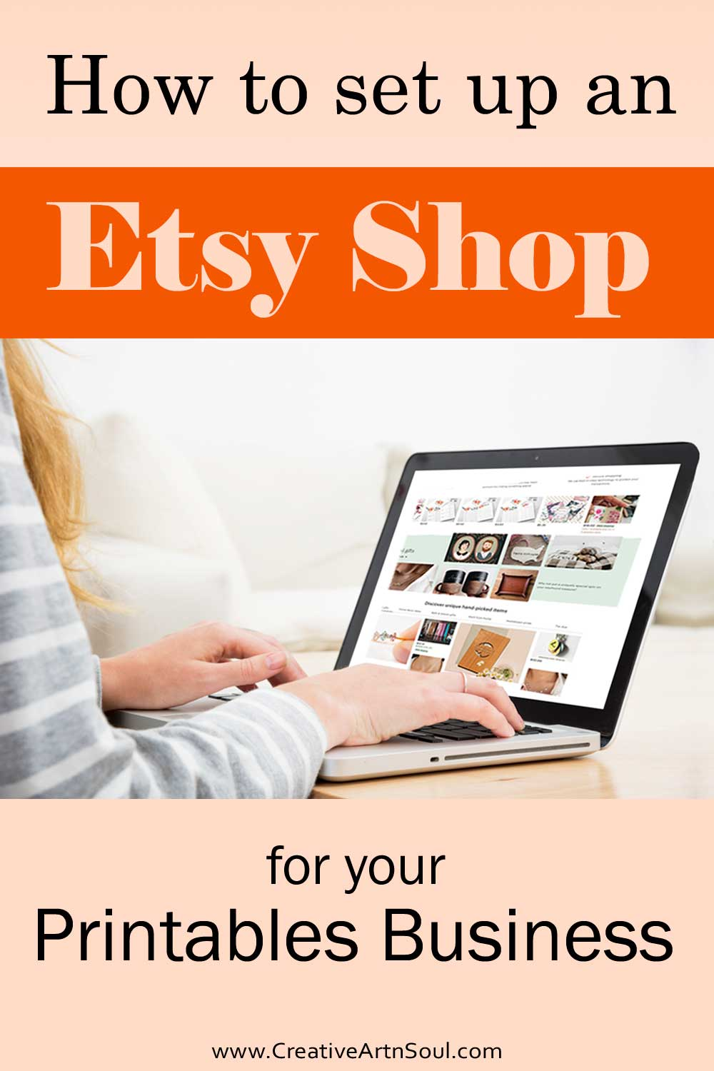 How to Set up An Etsy Shop for Your Printables Business
