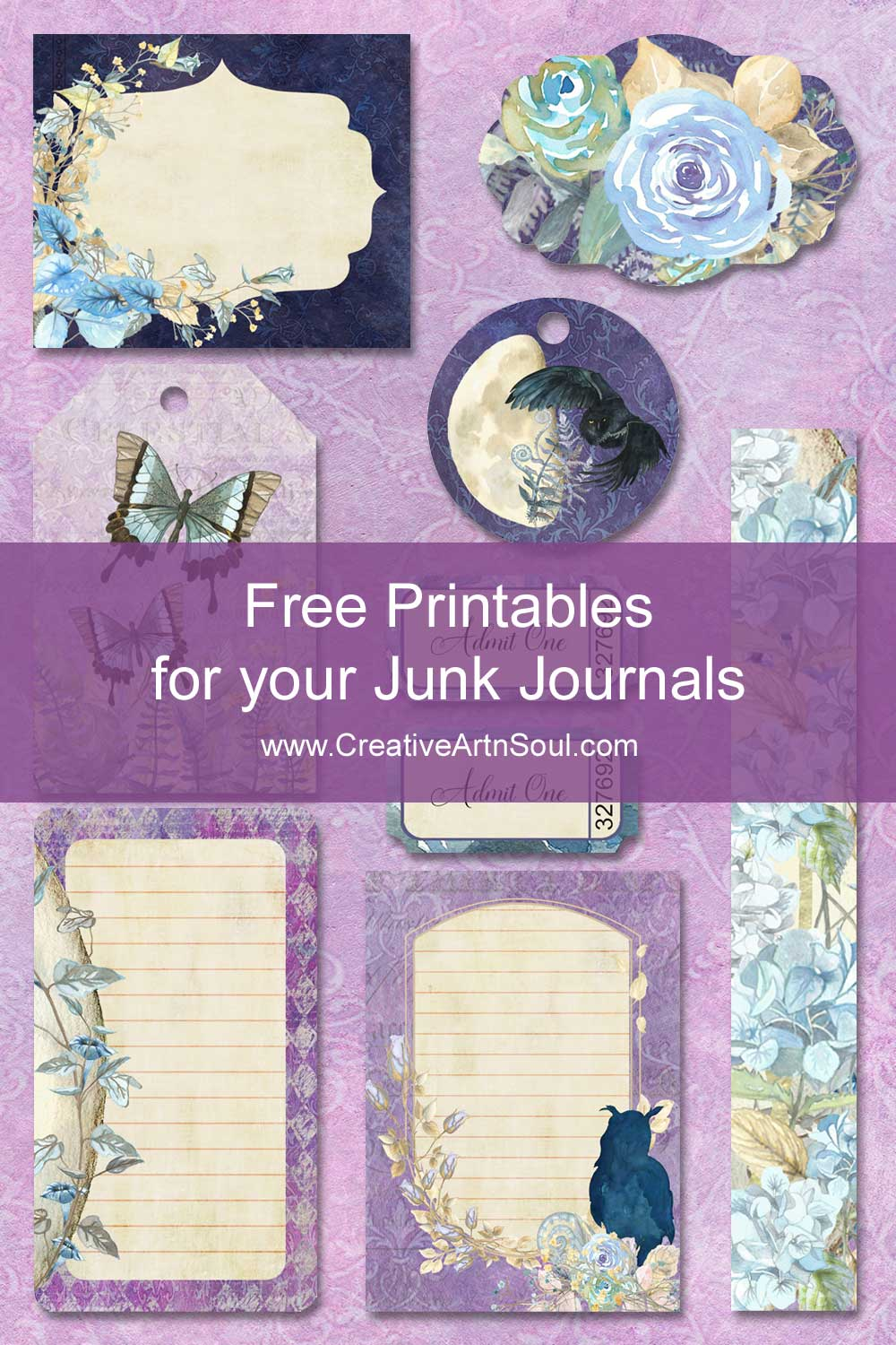 Free Printables for Your Junk Journals