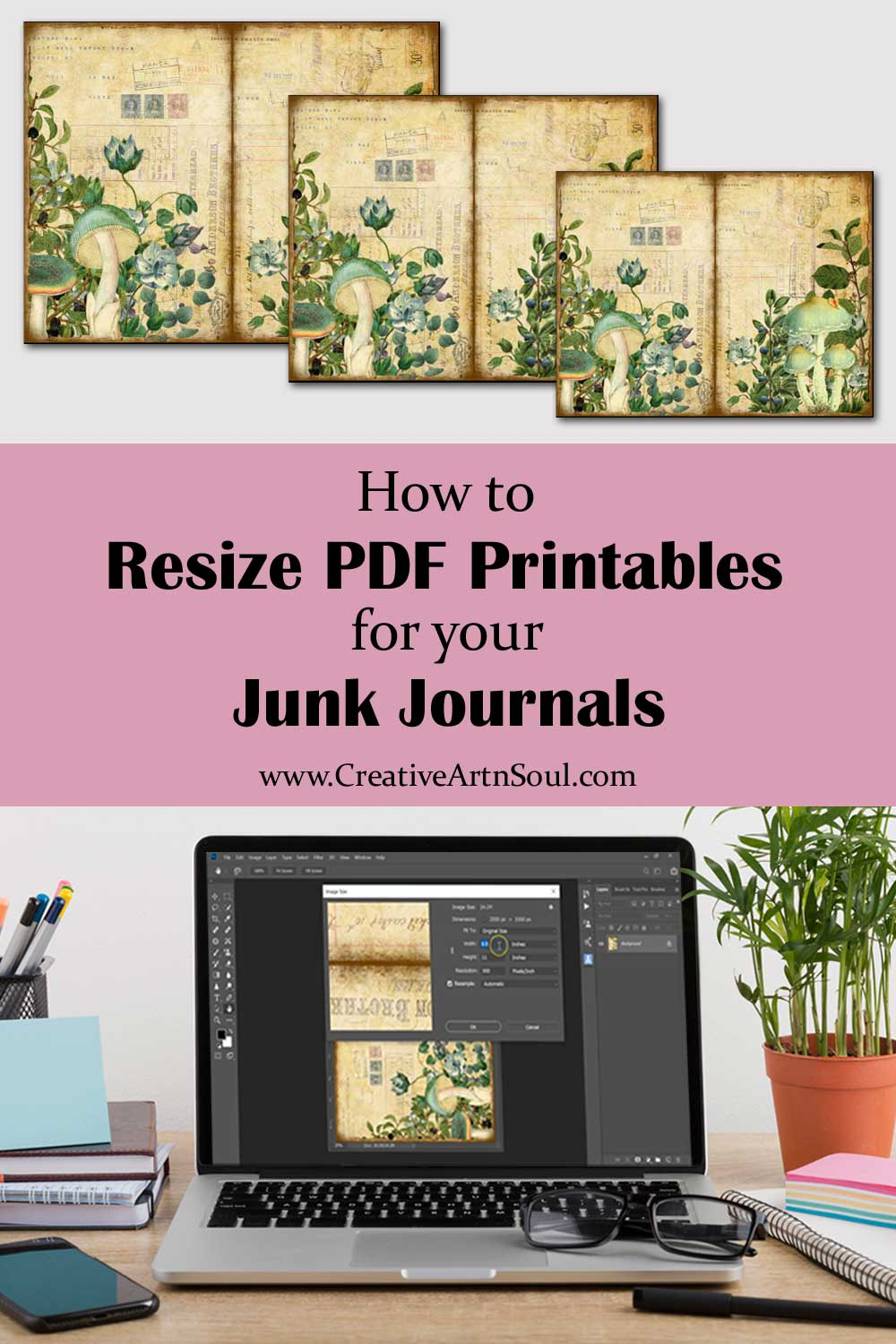 How to Scale or Resize PDF Printable Files