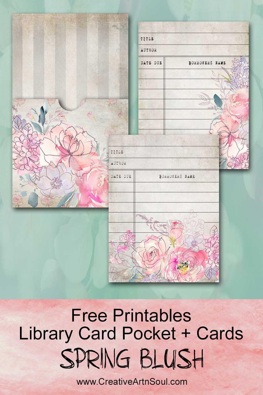 Spring Blush Free Printables