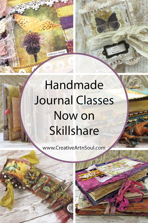 Handmade Journal Classes Now on Skillshare