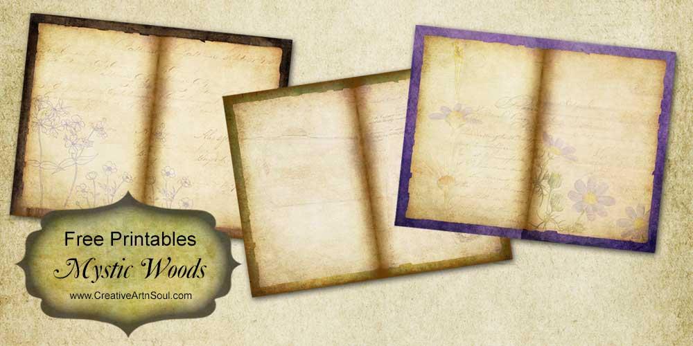 Mystic Woods Free Printables