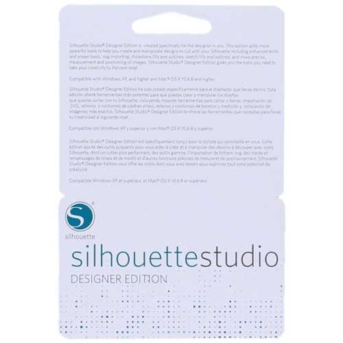 Silhouette Studio Designer Edition Software Card