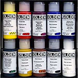 Paints, Gels and Mediums