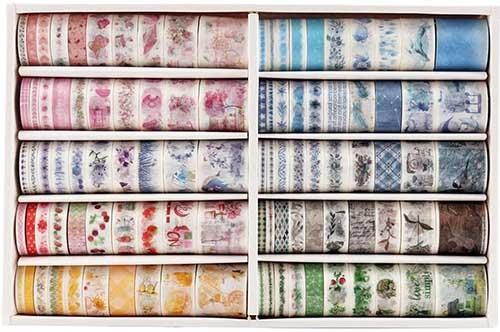 Washi Tape Set in Six Sizes